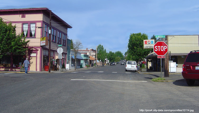 Photo of Downtown Ridgefield Washington