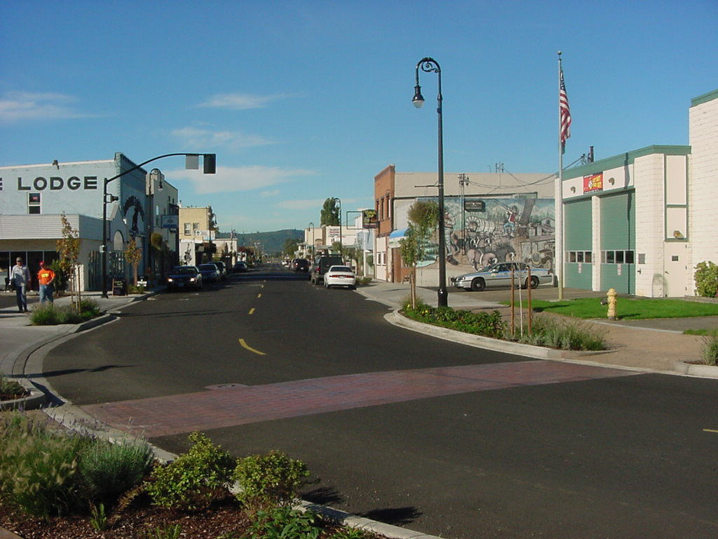 Photo of Woodland Washington Downtown
