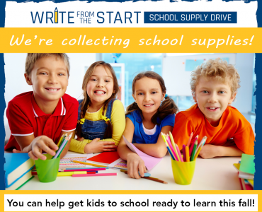 We're Collecting School Supplies!