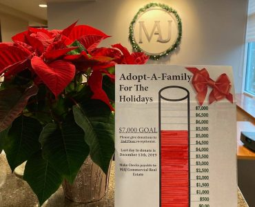 We've adopted SIX local families this year