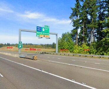 For Sale: 9.2 Acres at I-5 Exit 11