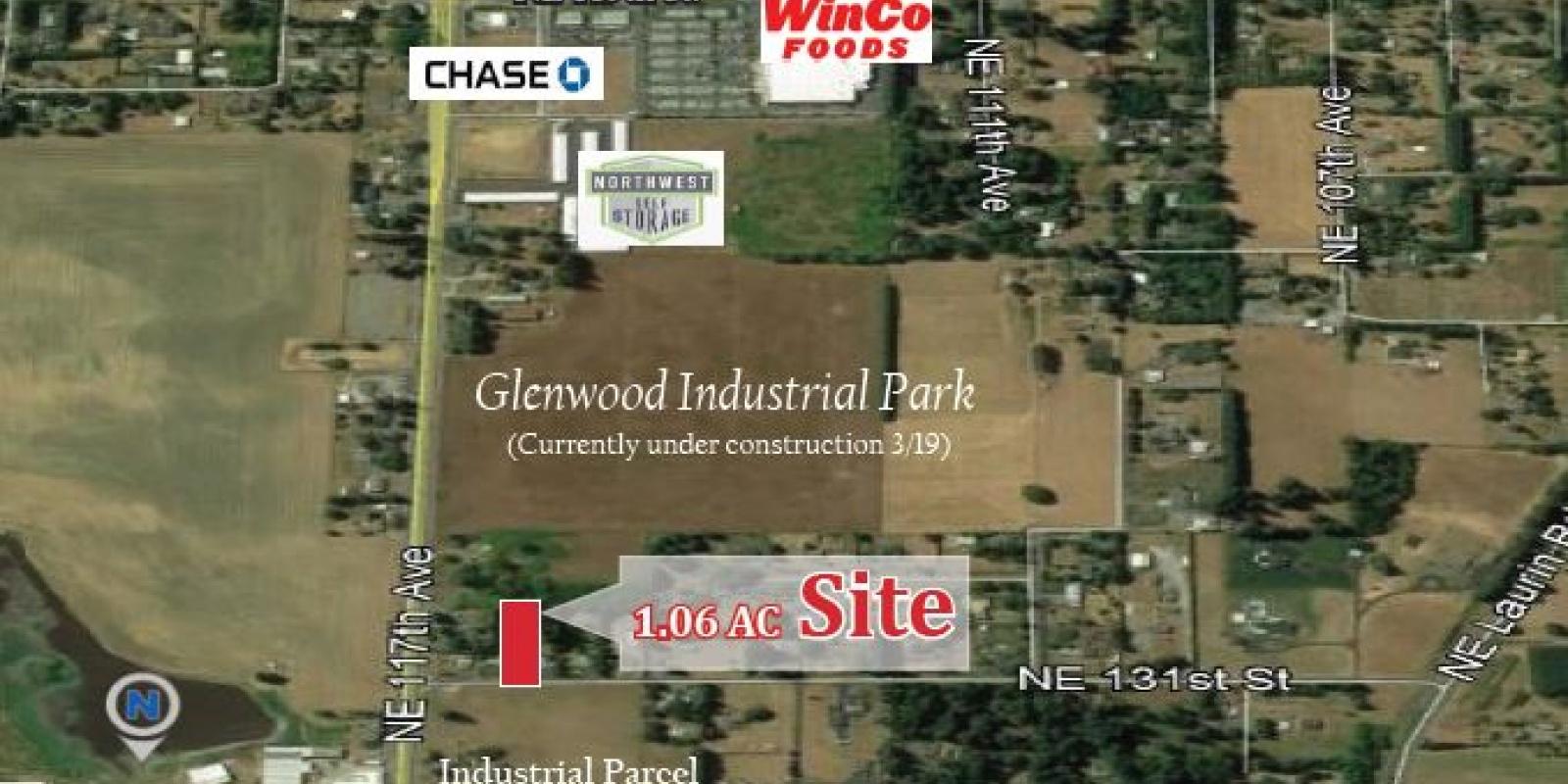 11515 NE 131st Ave 1.06 AC Industrial