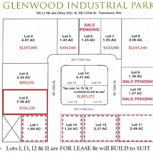 Lot 2 Glenwood Ind Park