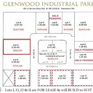 Lot 3 Glenwood Ind Park