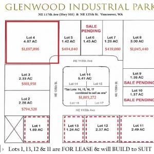 Lot 4 Glenwood Ind Park