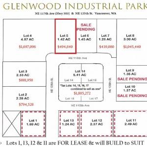 Lot 5 Glenwood Ind Park