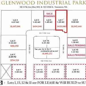 Lot 7 Glenwood Industrial Park