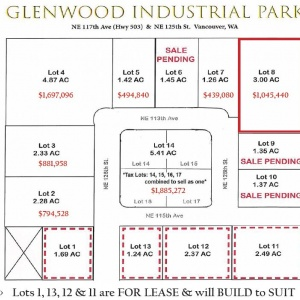 Lot 8 Glenwood Industrial Park