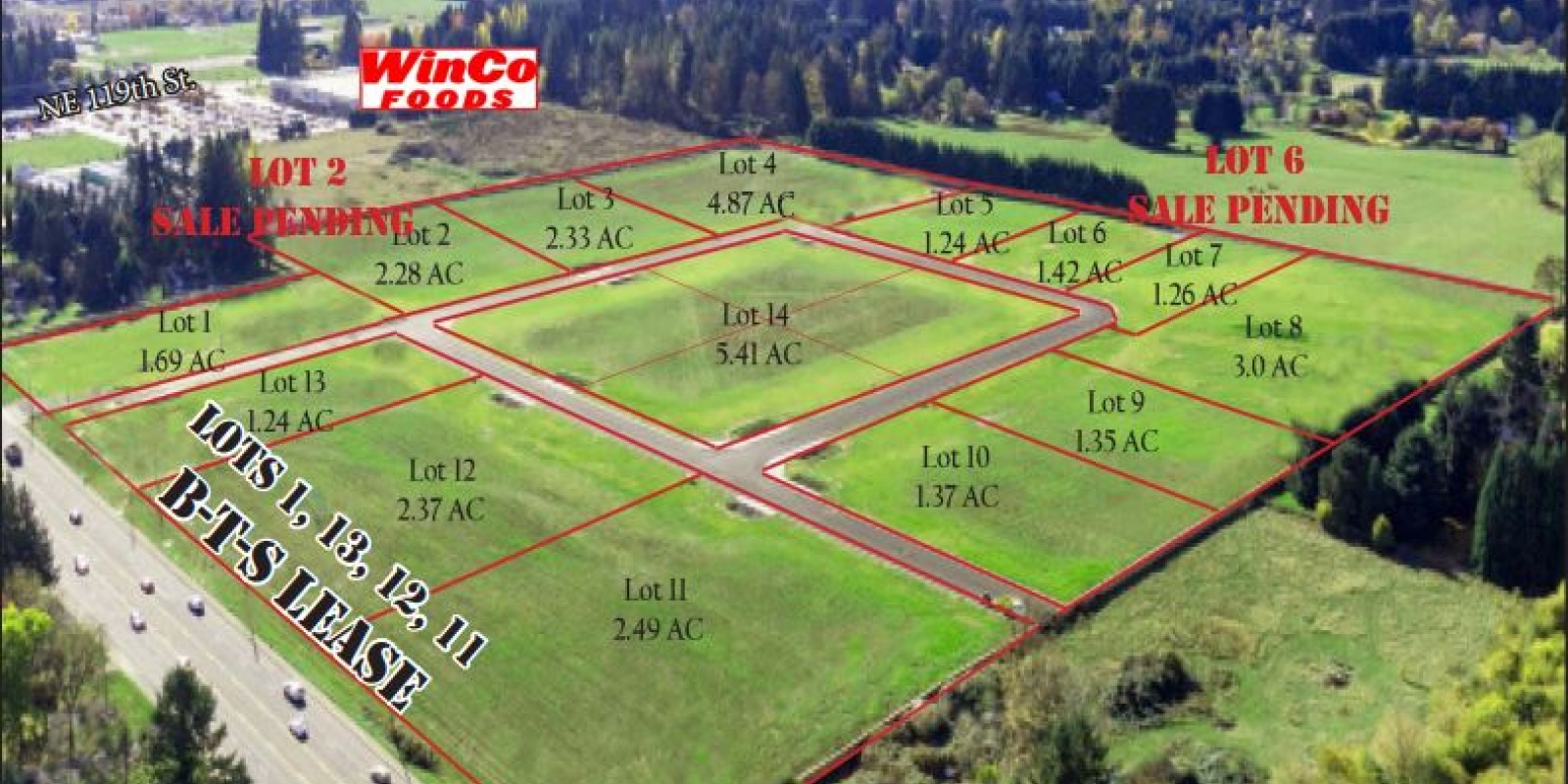 Hwy 503 at NE 125th St. Vancouver, WA 98662, ,Land,For Sale,GLENWOOD INDUSTRIAL PARK,Hwy 503 at NE 125th St. Vancouver, WA 98662,1326