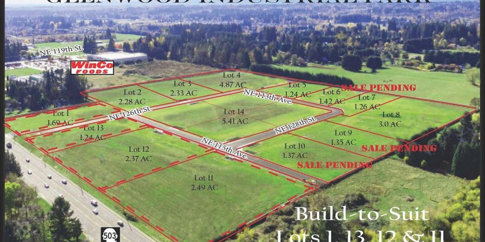 Glenwood Industrial Park Lot 8