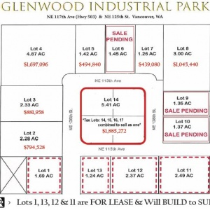 Lot 14 Glenwood Industrial Park
