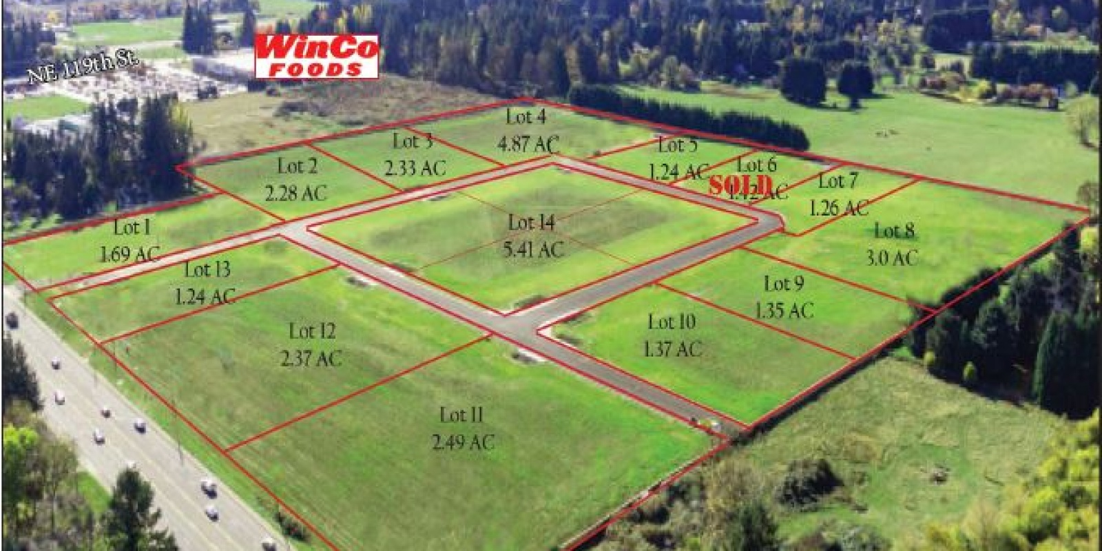 Glenwood Industrial Park 14 Lots