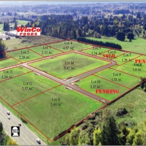 Glenwood Industrial Park 14 Lots