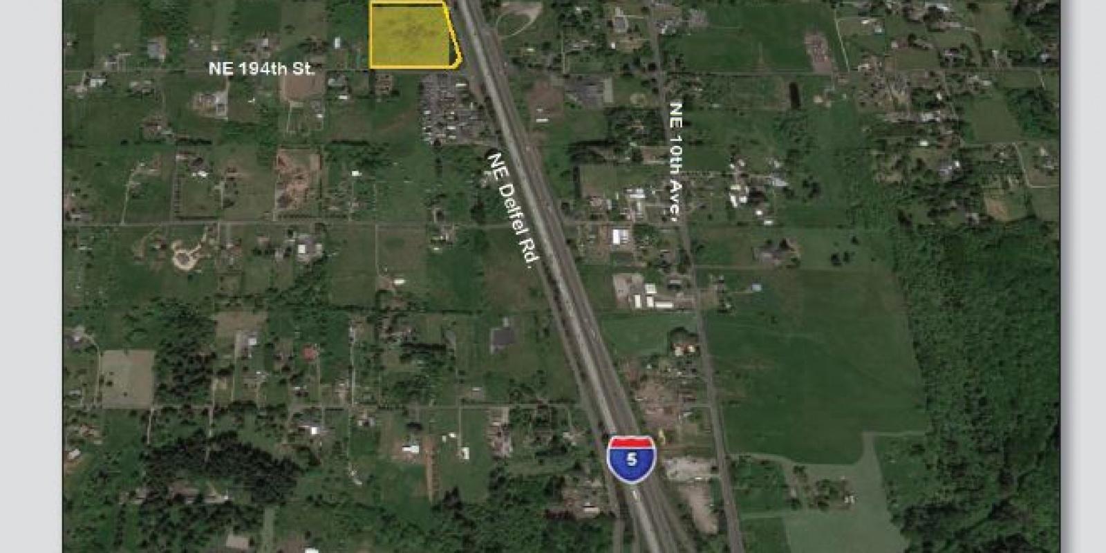 NE Delfel Rd. & NE 194th St. Ridgefield, WA, ,Land,For Sale,NE Delfel Rd. & NE 194th St. Ridgefield, WA ,1427